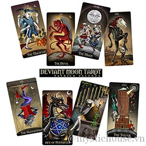 Deviant Moon Tarot Borderless