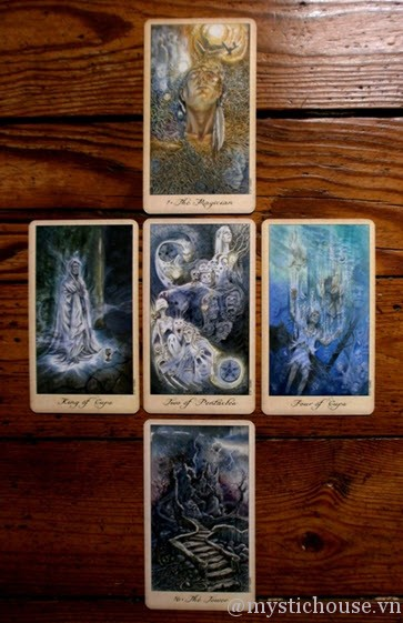 Ghosts and Spirits Tarot – Cảm nhận