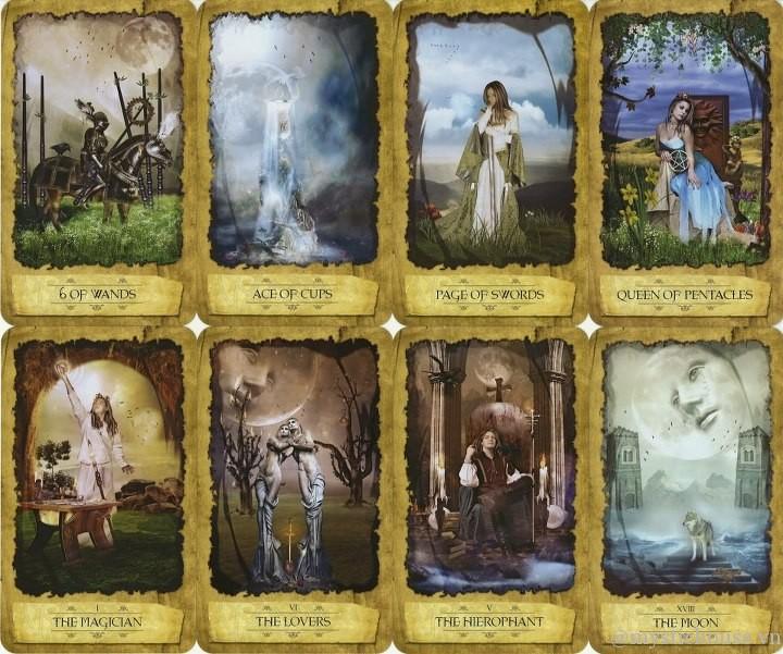 Mystic Dreamer Tarot mang thuộc tính khí
