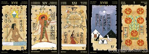 ý nghĩa của bộ bài Egyptian Tarot