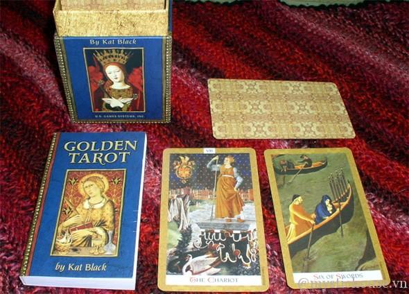 Cảm nhận về bộ bài Golden Tarot