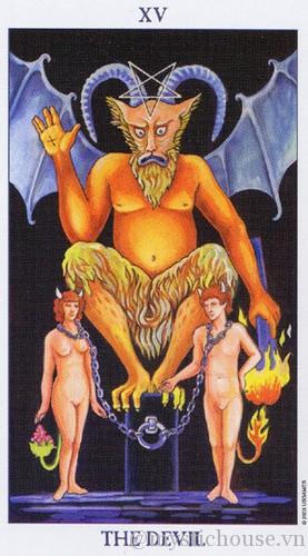 cảm nhận lá bài tarot the devil