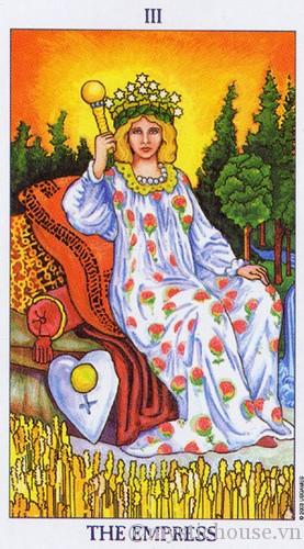 cảm nhận lá bài tarot the empress