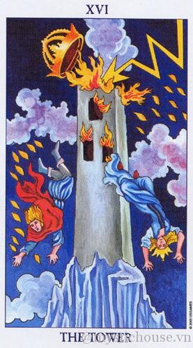cảm nhận lá bài tarot the tower