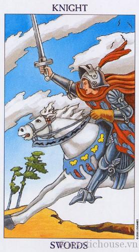 cảm nhận lá bài tarot knight of swords