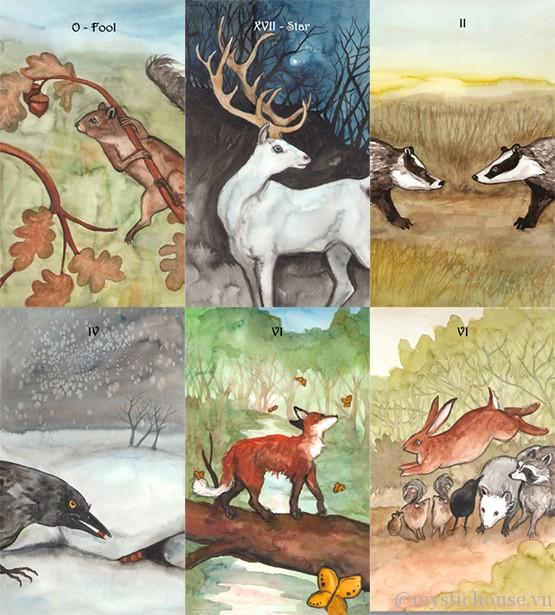 Badgers Forest Tarot