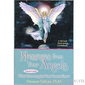 Messages From Your Angels Cards cover
