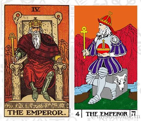 ý nghĩa lá bài tarot The Emperor