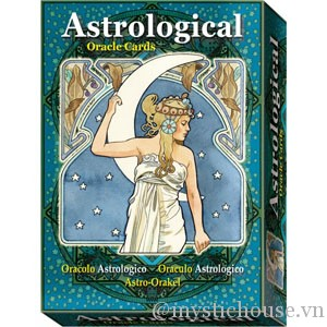 Astrological Oracle Cards cover