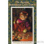 Baroque Bohemian Cats' Tarot cover