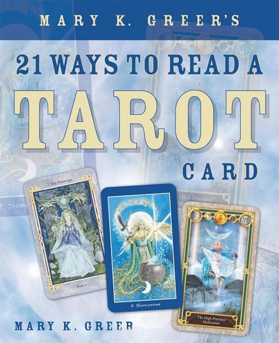 sách học tarot 21 Ways to read a tarot card