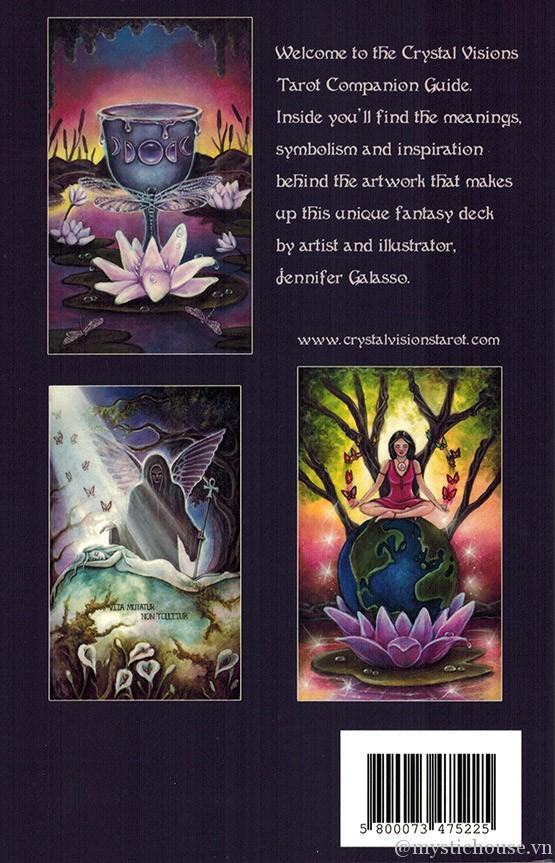Crystal Visions Tarot cover