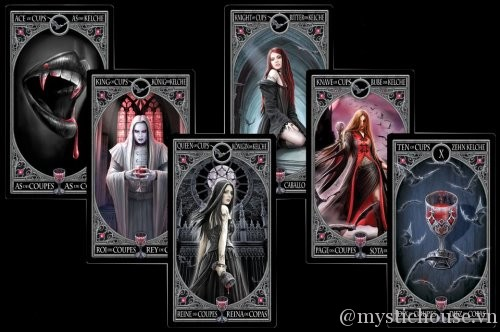 Cám nhận Anne Stokes Gothic Tarot