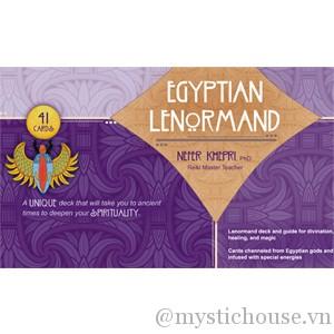 Egyptian Lenormand cover