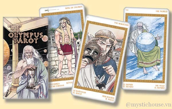 Cảm nhận bộ bài Olympus Tarot