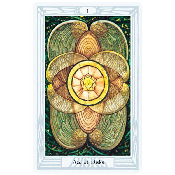 Aleister Crowley Thoth Tarot 6