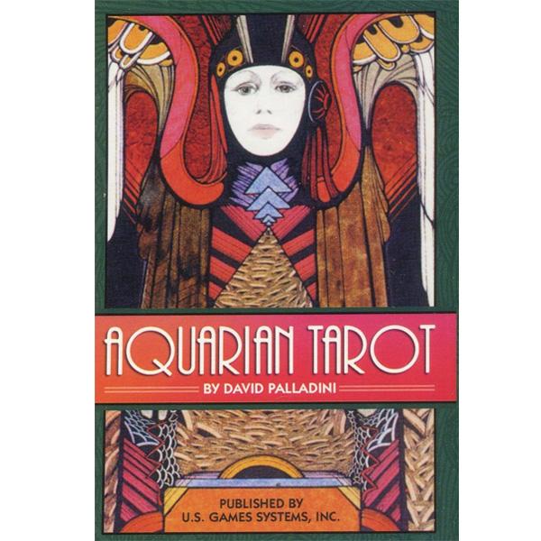 Aquarian Tarot cover