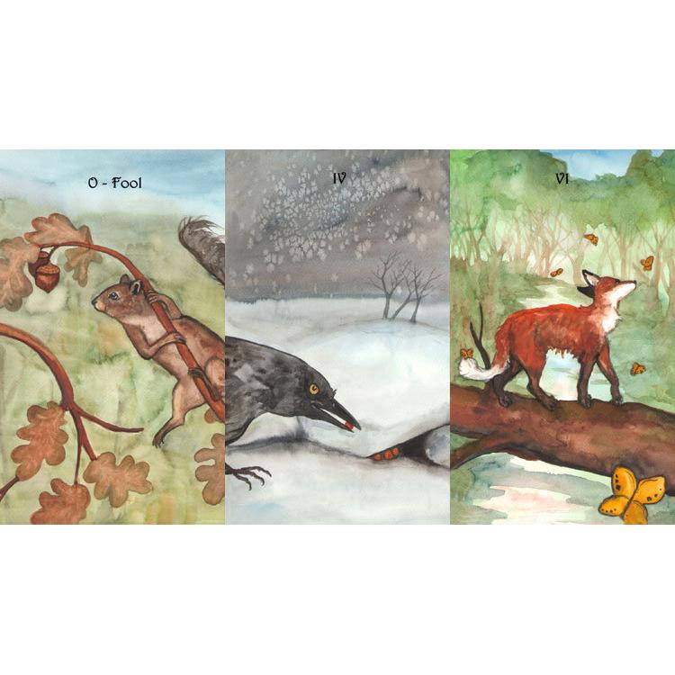 Badgers Forest Tarot 1