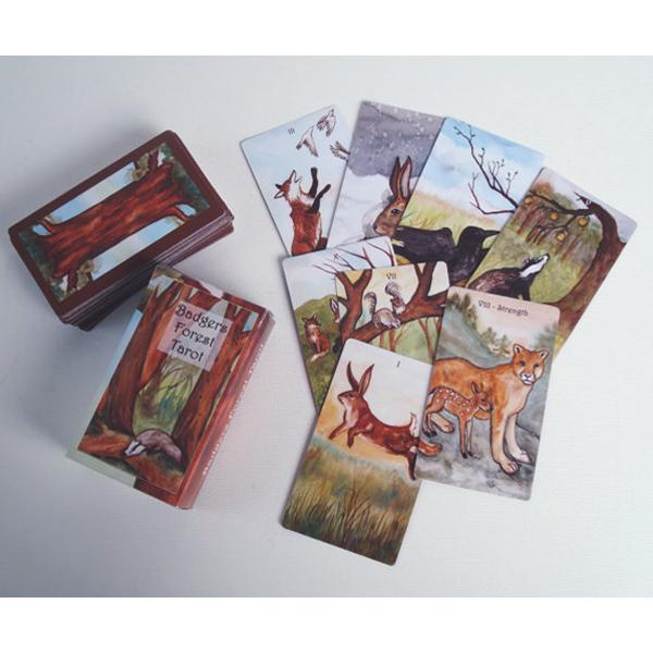 Badgers Forest Tarot 3