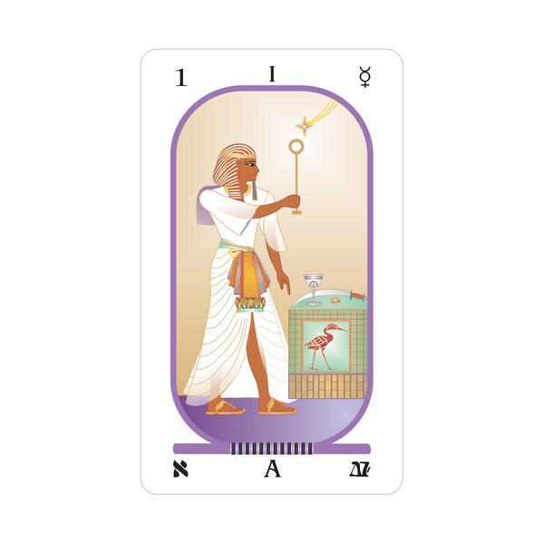 Brotherhood of Light Egyptian Tarot 1