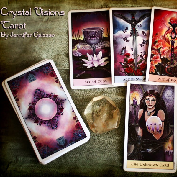 Crystal Visions Tarot 8