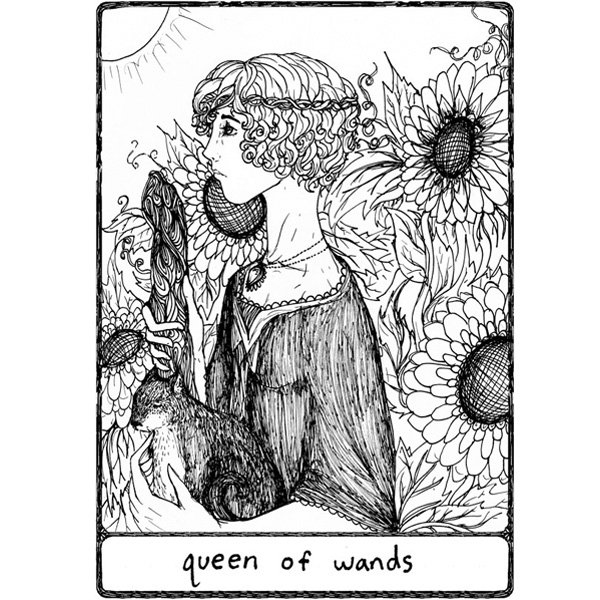 Efflorescent Tarot – Black and White 2