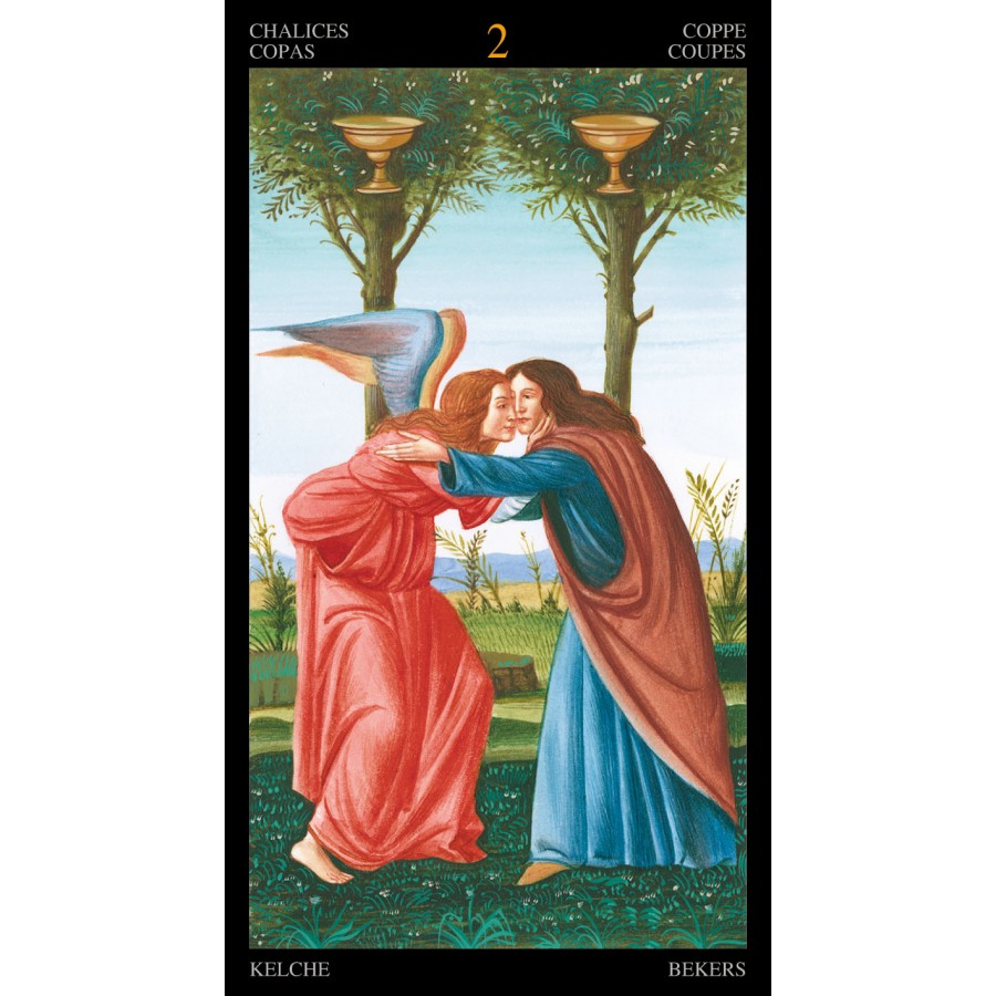 Golden Botticelli Tarot 1