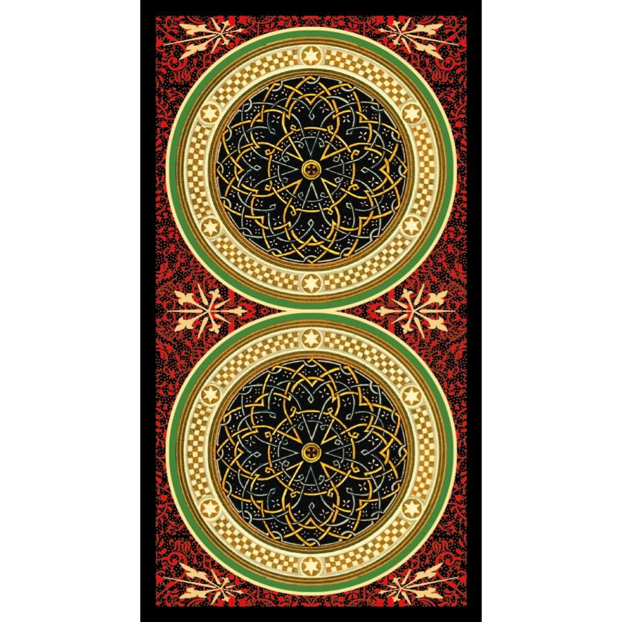 Golden Botticelli Tarot 12
