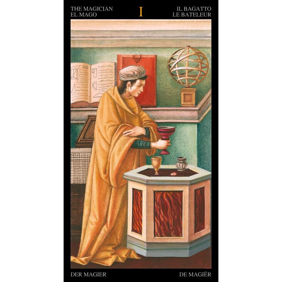 Golden Botticelli Tarot 5