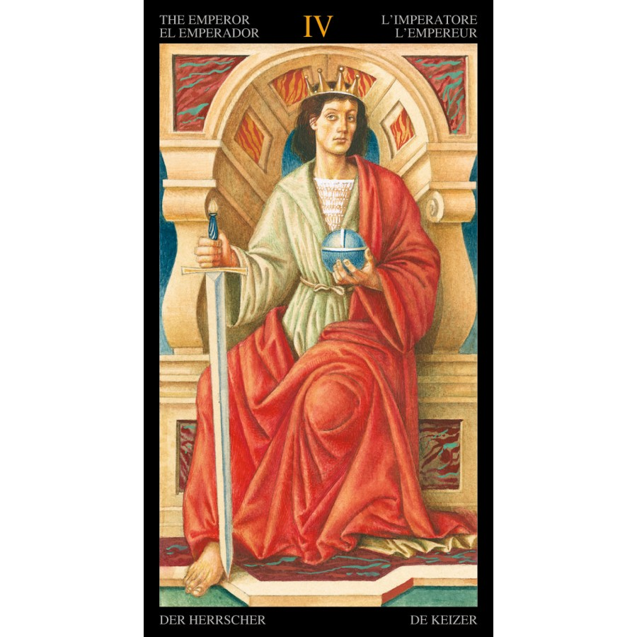 Golden Botticelli Tarot 6