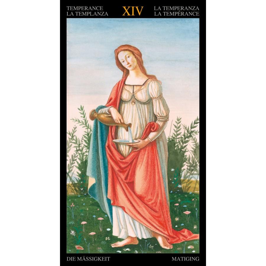 Golden Botticelli Tarot 9