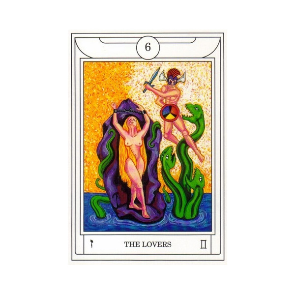 Golden Dawn Magical Tarot 3