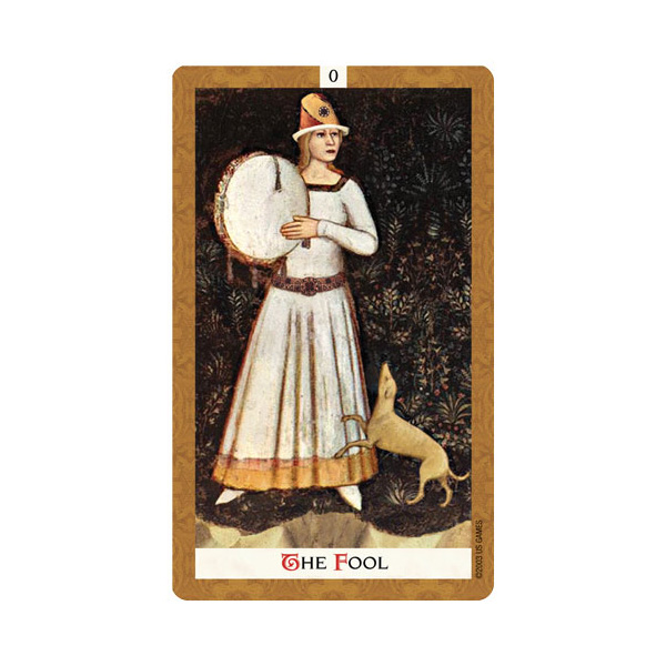 Golden Tarot 1