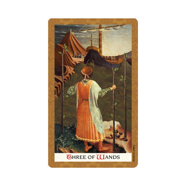 Golden Tarot 4