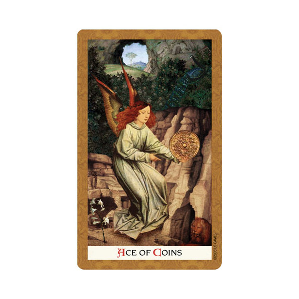 Golden Tarot 6