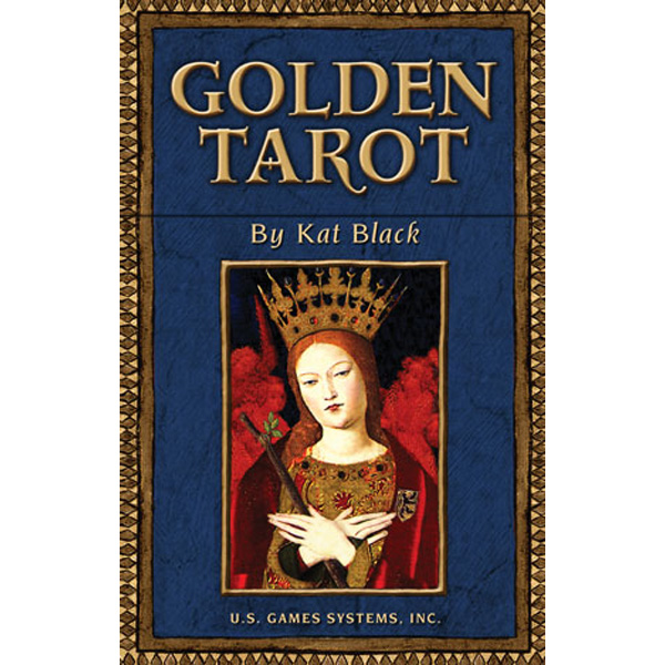 Golden Tarot cover