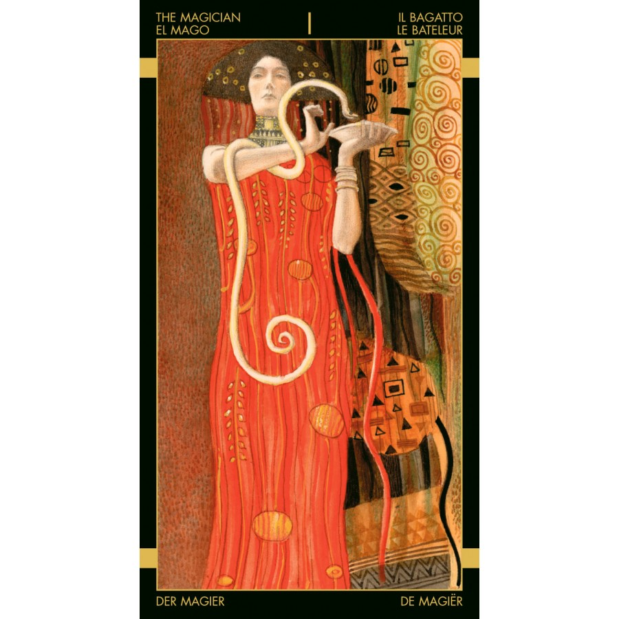 Golden Tarot of Klimt 5