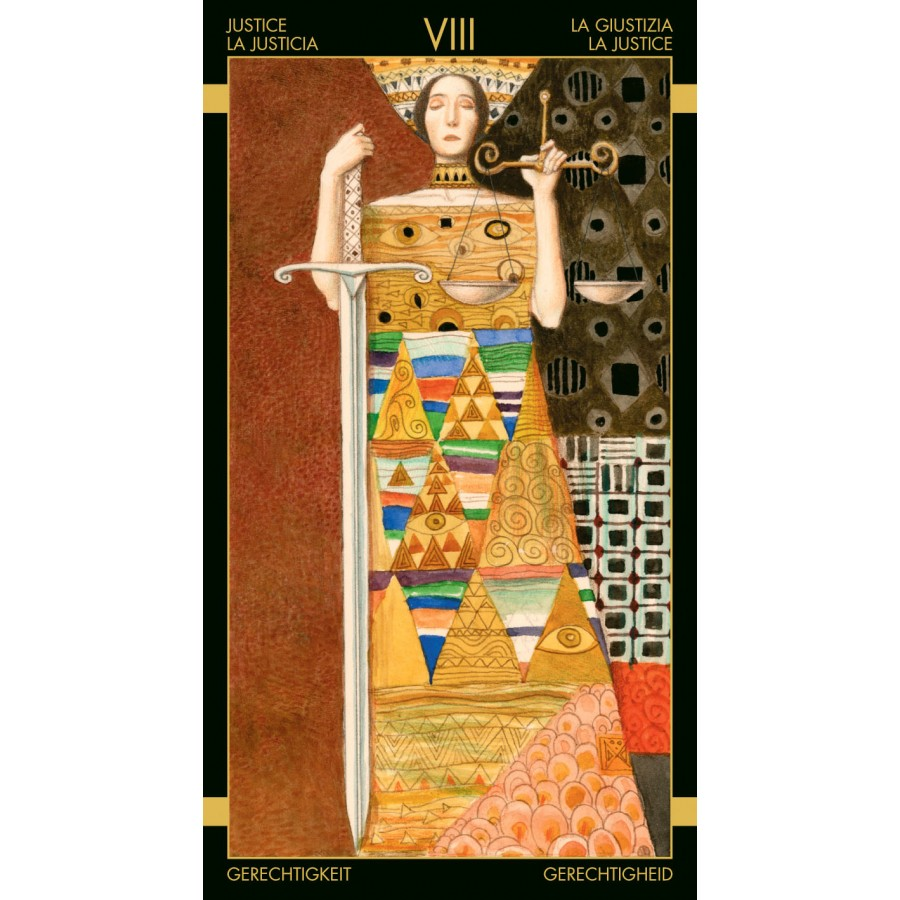 Golden Tarot of Klimt 7