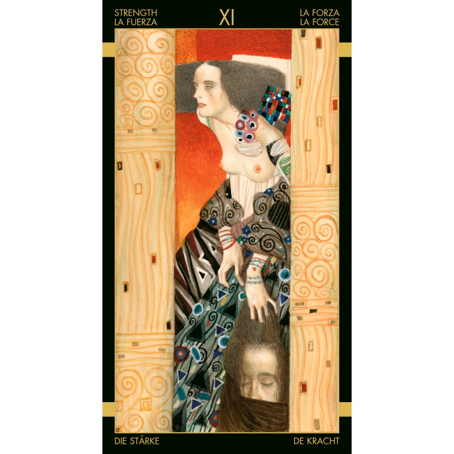 Golden Tarot of Klimt 8