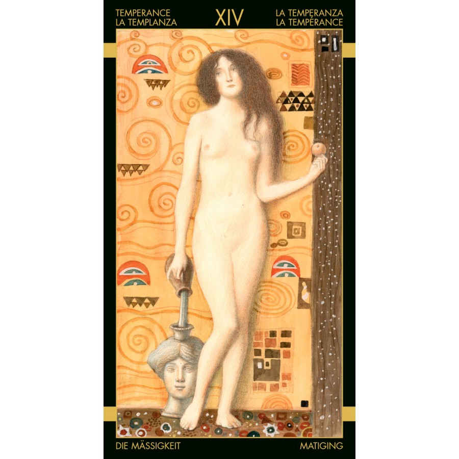 Golden Tarot of Klimt 9