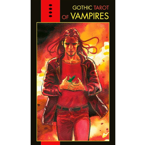 Gothic Tarot of Vampires cover