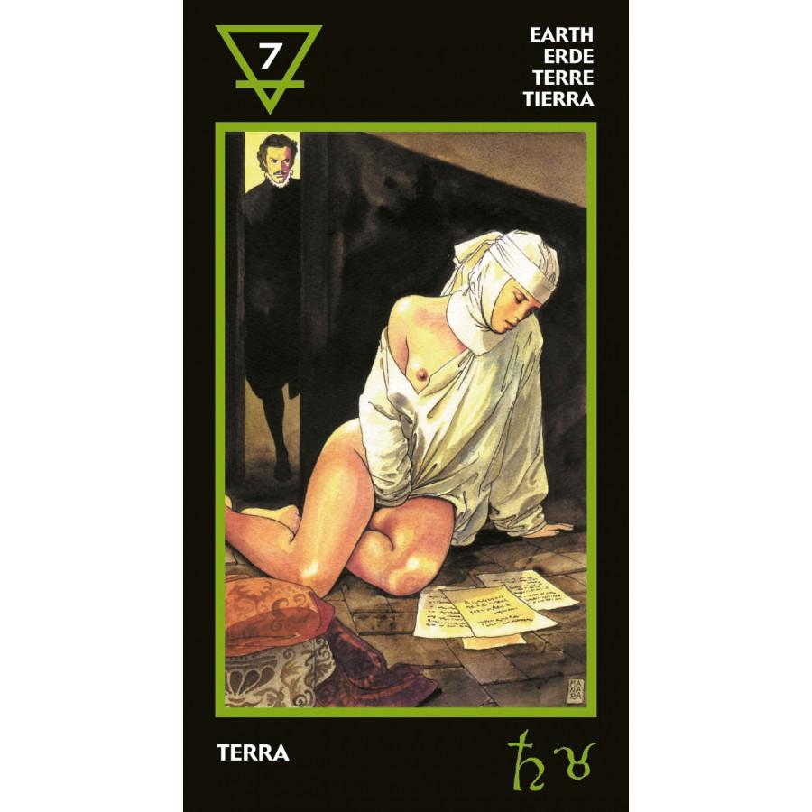 Manara Erotic Tarot 2