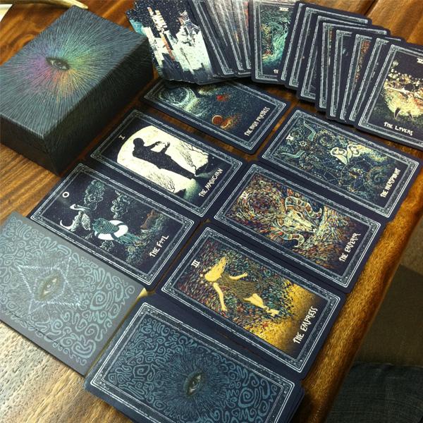 Prisma Visions Tarot 8