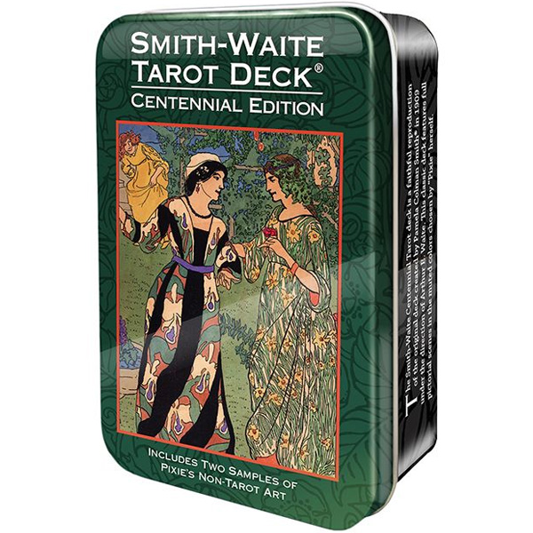 Smith-Waite Centennial Tarot Deck - Tin Edition