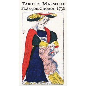 Tarot de Marseille François Chosson 1736