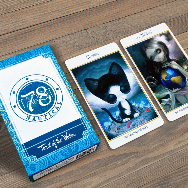 78 Tarot Nautical – Tarot of the Water 7
