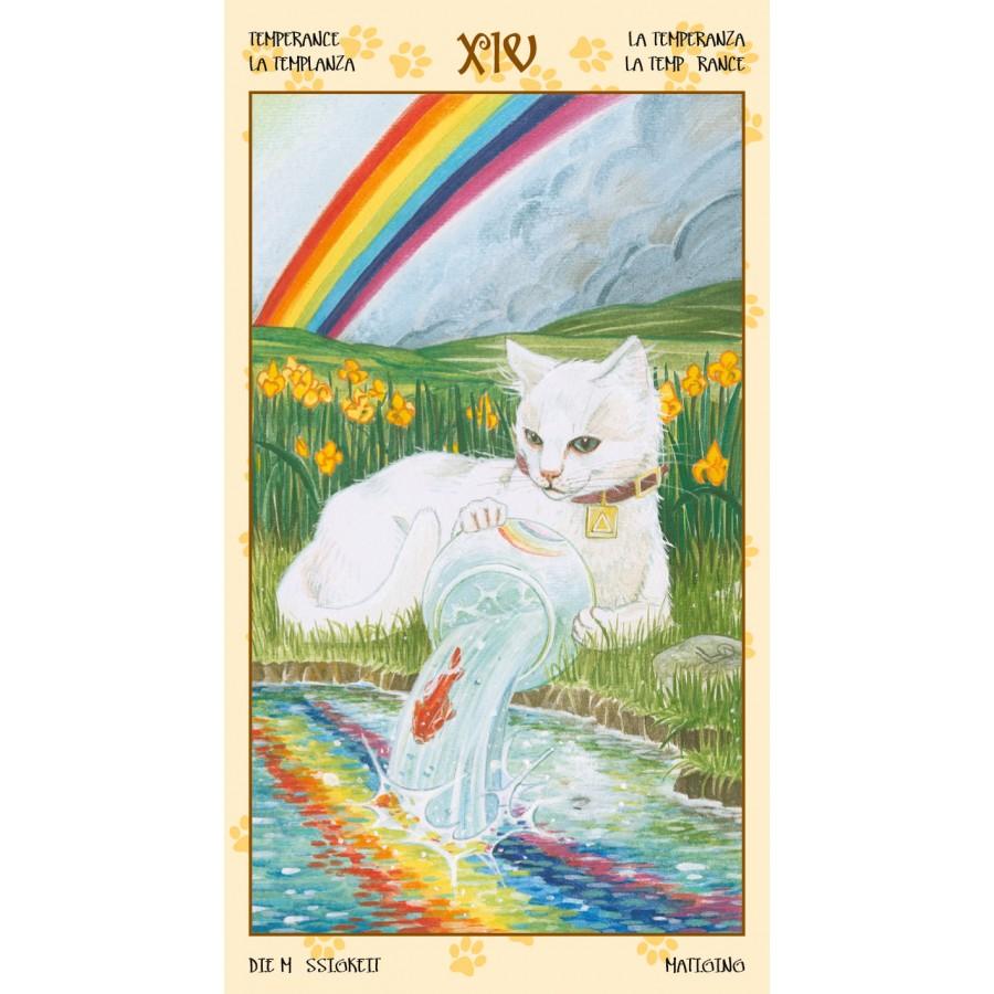 Tarot of Pagan Cats 9