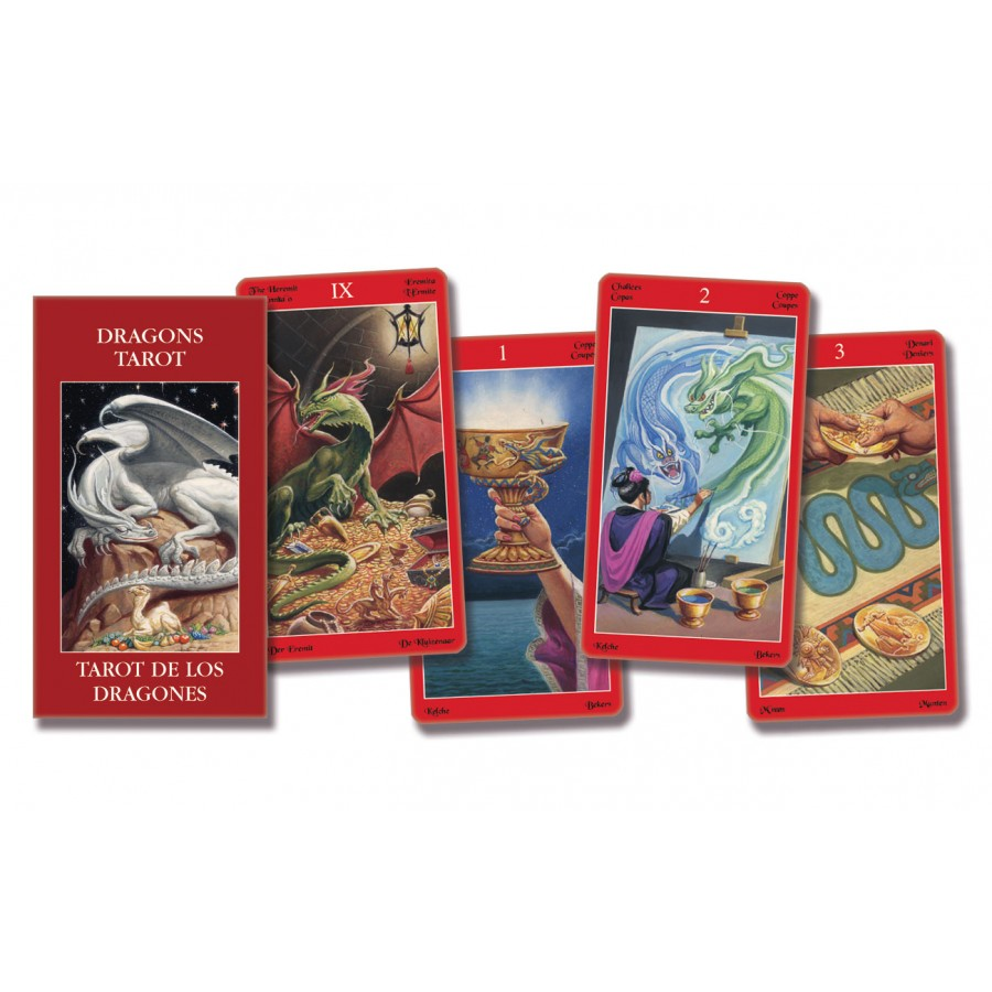 Dragons Tarot - Pocket Edition 1