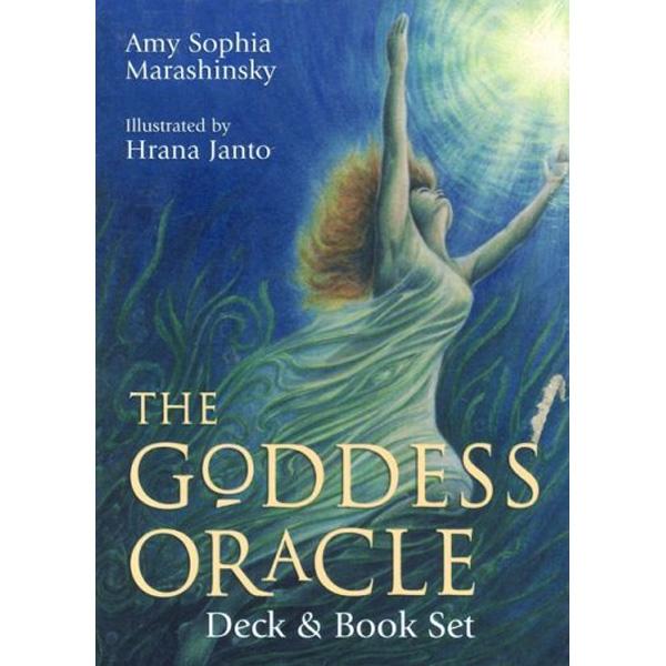 Goddess Oracle Deck & Book Set