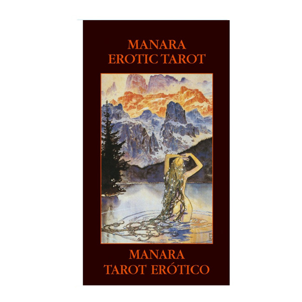 Manara Erotic Tarot - Pocket Edition